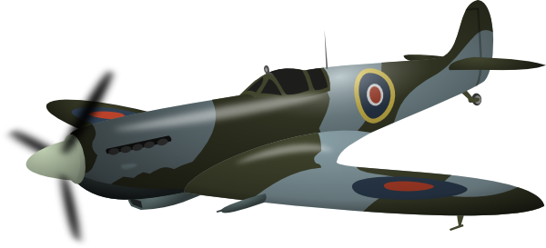 Aircraft clipart spitfire  this Spitfire image Download