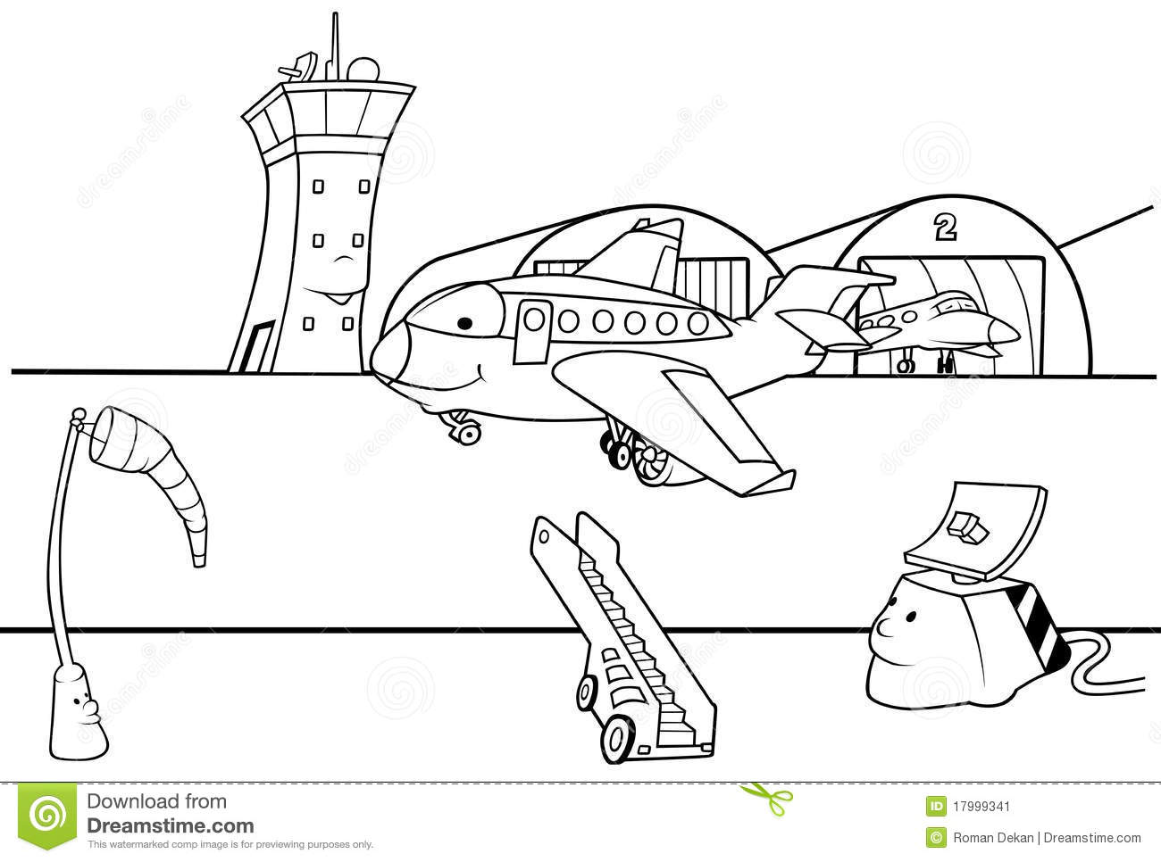Airport clipart Stock runway Runway airport 5