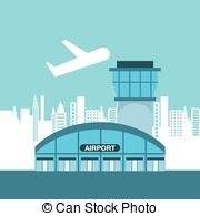 Airfield clipart airport terminal 480 35 Airport royalty Illustrations