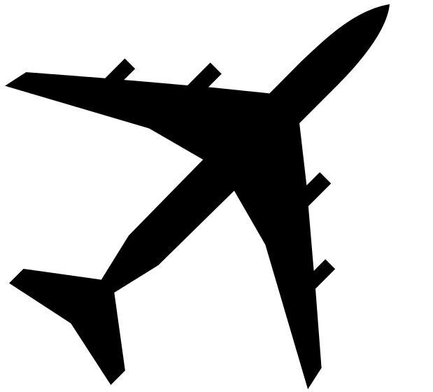 Aircraft clipart airport terminal #3