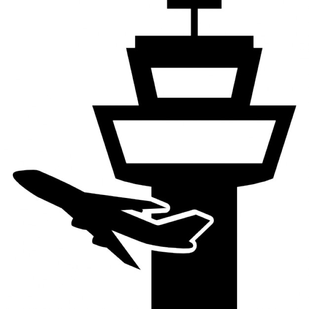 Airfield clipart control tower Airstrip Symbol