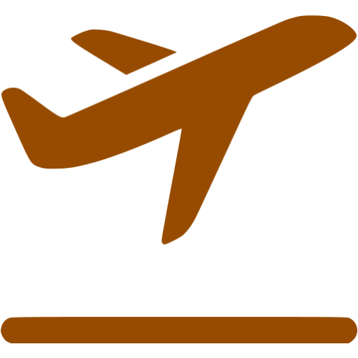 Airplane clipart brown Airplane airplane Brown takeoff icon