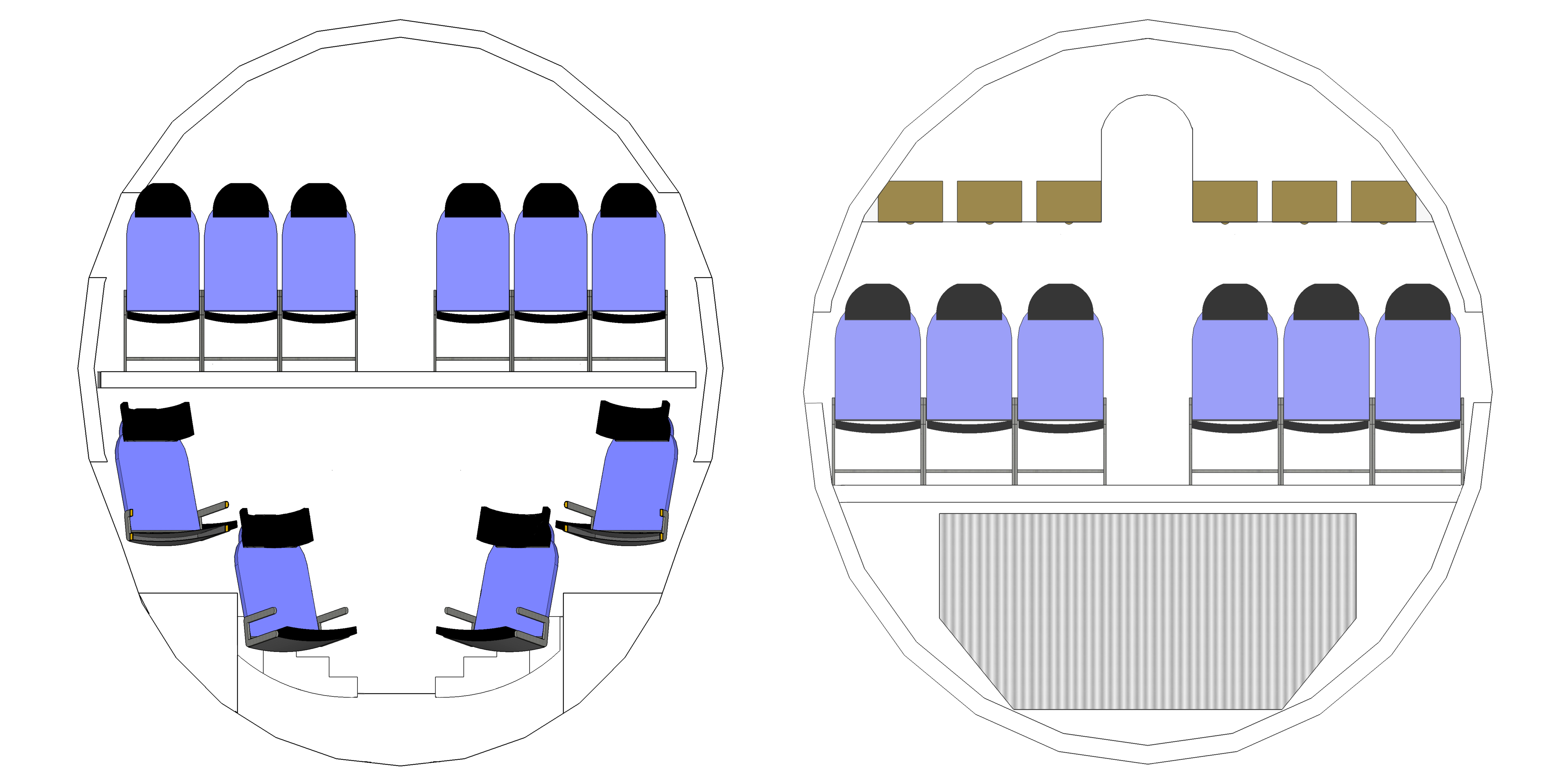 Airplane clipart cross section Coroflot com the Andrew Flynn