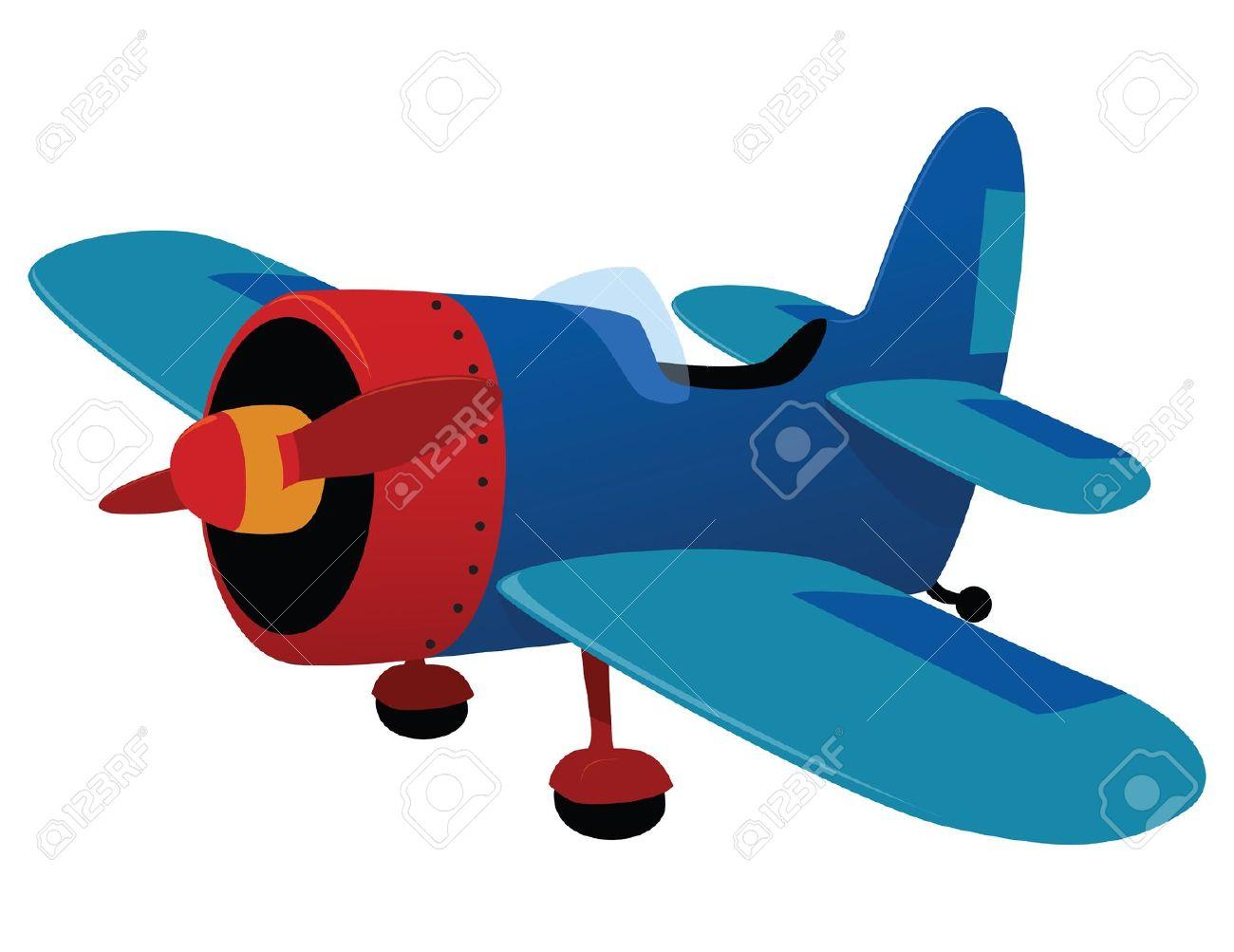 Airplane clipart dark blue #5