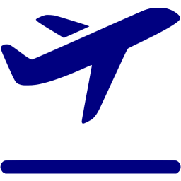 Airplane clipart navy blue Blue airplane navy Navy icon