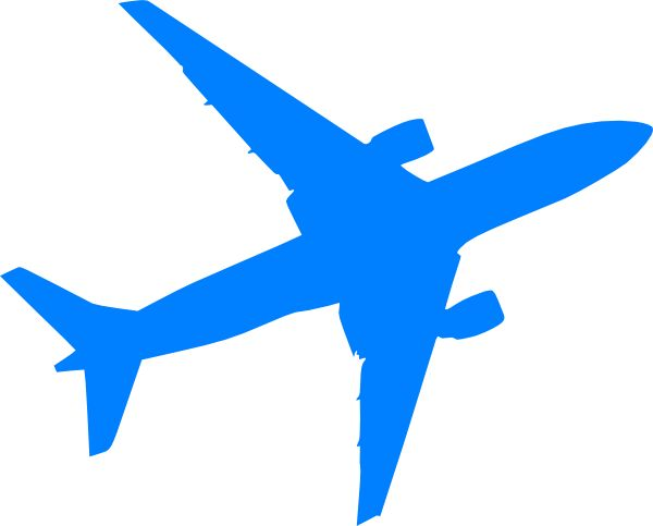 Airplane clipart navy blue And Best Best Black Airplane