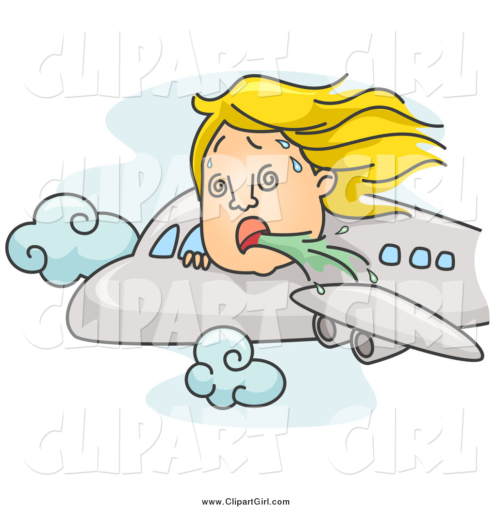 Airplane clipart person #9