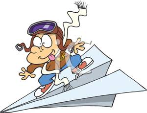 Airplane clipart pilot #10