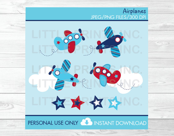 Airplane clipart scrapbook #8