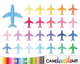 Airplane clipart scrapbook #10