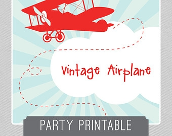 Airplane clipart vintage red 13503 And Cliparts Vector Plane