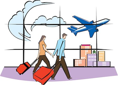 Airport clipart #11