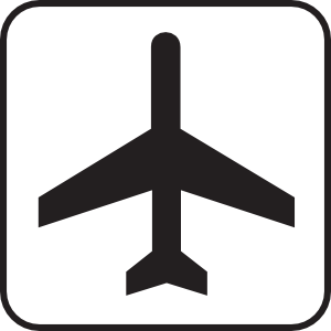 Airport clipart #10