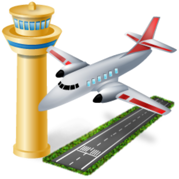 Airport clipart #3