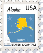 Alaska clipart Alaska 51 Illustrations Graphics flag