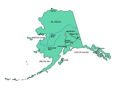 Alaska clipart Clip Clipart Clipart map art