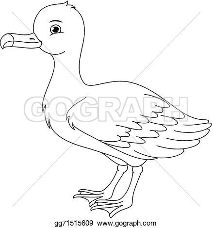 Albatross clipart goose Gg71515609 coloring Albatross Clip page
