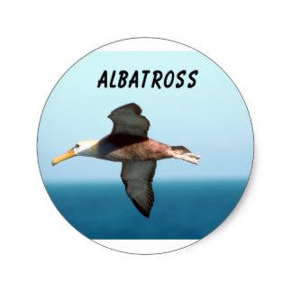 Albatross clipart orville Classic Stickers Zazzle Albatross Flying
