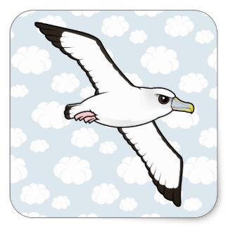Albatross clipart orville Albatross Sticker Albatross Square Shy