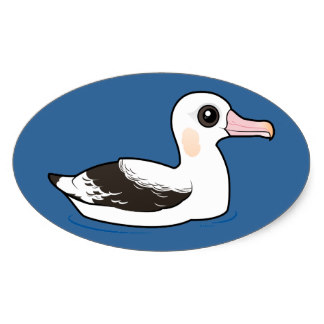 Albatross clipart orville Albatross Stickers Zazzle Albatross Wandering