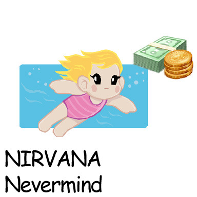 "Album Cover clipart Nirvana Clipart by "" Nevermind"