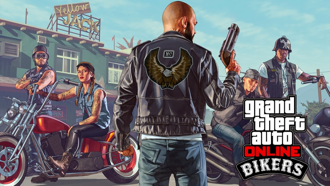 Album Cover clipart gta 5 Location 'GTA Bikers the Weed
