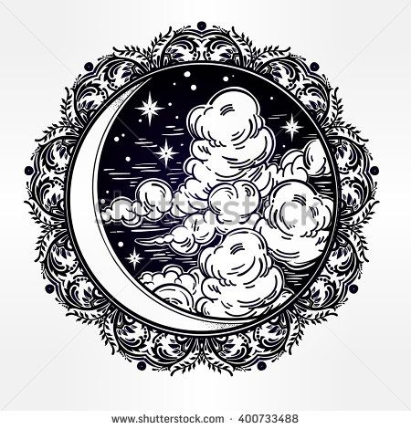 Alchemy clipart astrology Stars Vector hand tattoo best