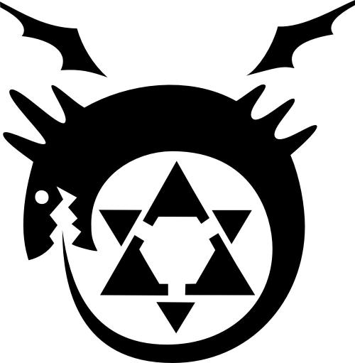 Alchemy clipart circle Transmutation in MyAnimeList Like Alchemist's