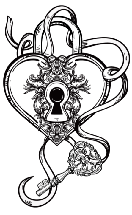 Alchemy clipart coloring book My Celestial Celestial Heart To