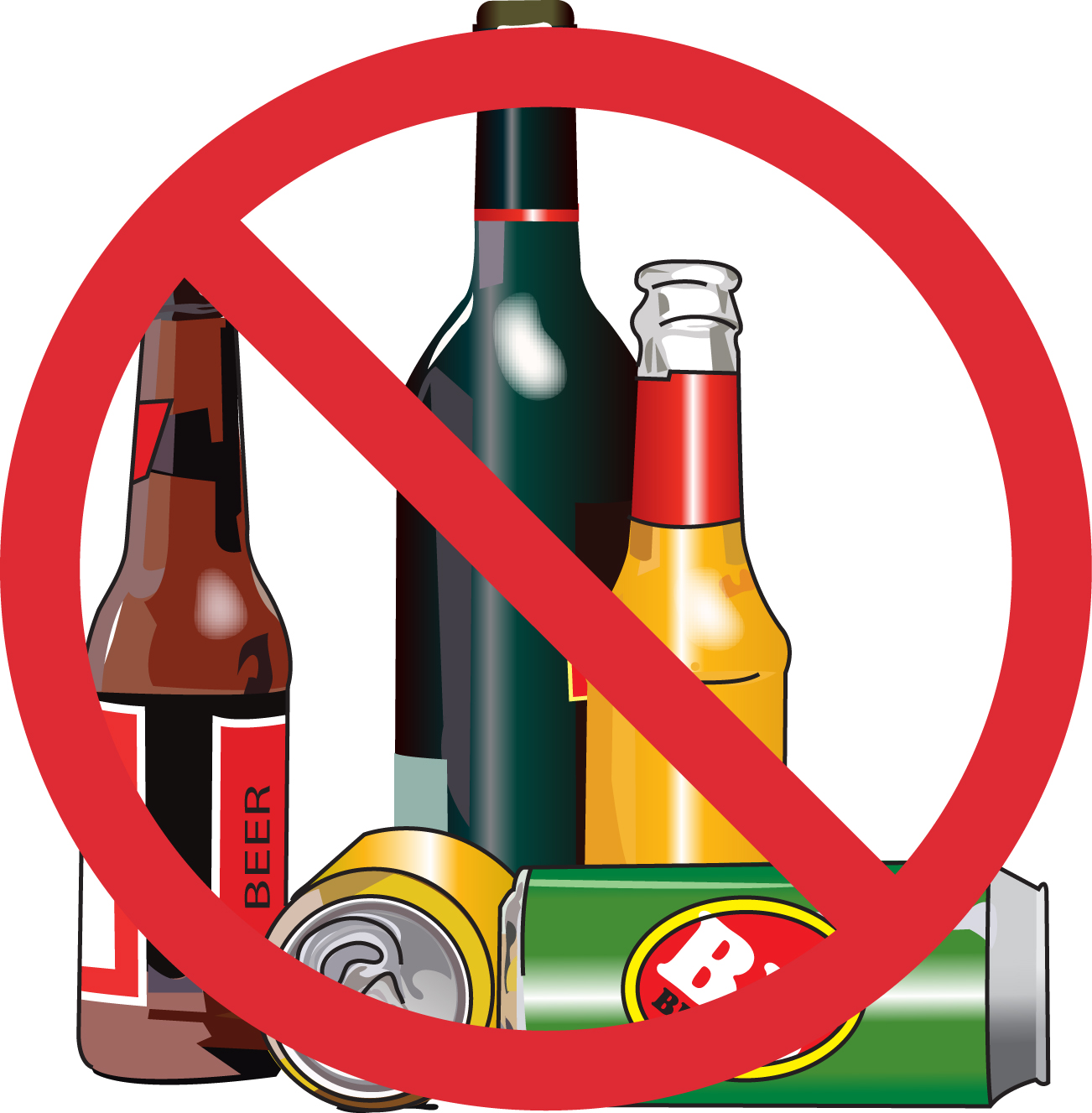 Alcohol clipart #12