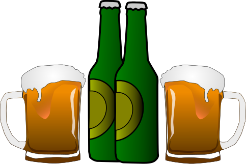 Alcohol clipart #2