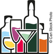 Alcohol clipart #6