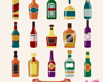 Boose clipart alcoholic drink Alcohol Alcohol Vector Bottle Download