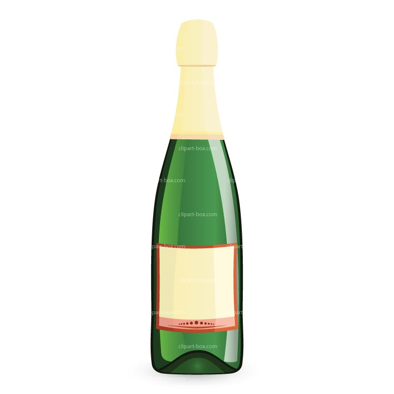 Champagne clipart cheers Art bottle alcohol Wine gallery