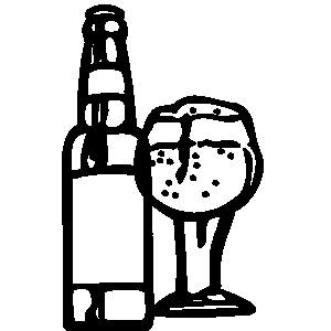 Alcohol clipart bar #6
