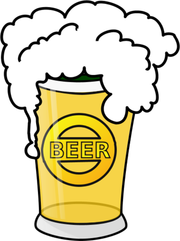 Alcohol clipart beer can Glass Beer Art Free