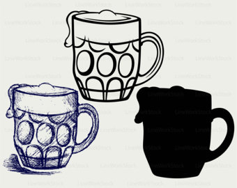 Alcohol clipart beer cup #6