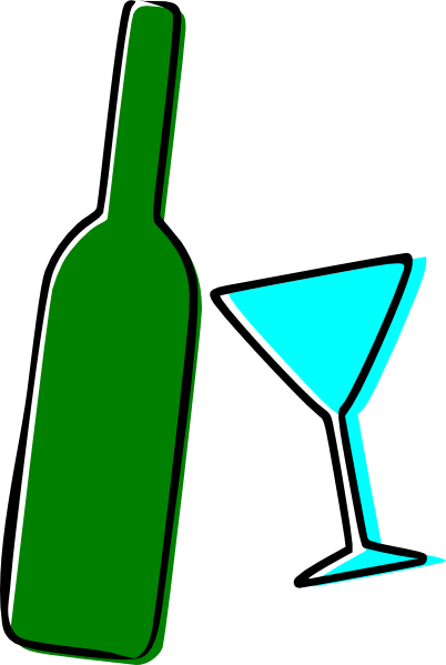 Boose clipart wine bottle Image Martini Clker as: at