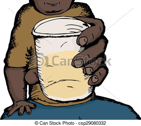 Alcohol clipart cartoon Csp29080332 person Man Alcohol drinking