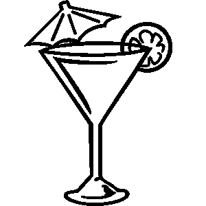 Wodka clipart wine bottle Cocktail load Martini clipart a