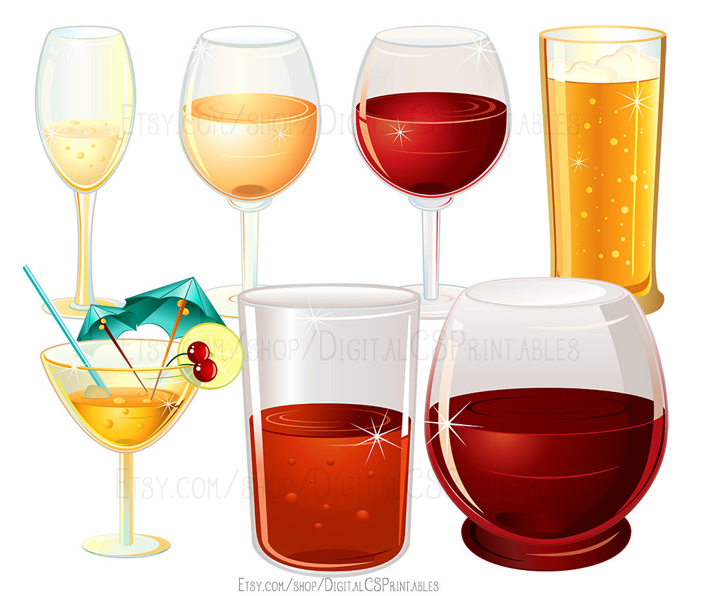 Alcohol clipart cocktail glass Clipart a  is clipart