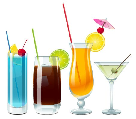 Alcohol clipart cocktail hour #9