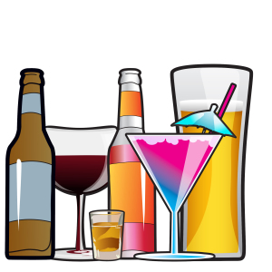 Alcohol clipart drink Season alcohol Holiday hand many