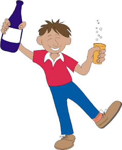 Alcohol clipart drinking alcohol #9