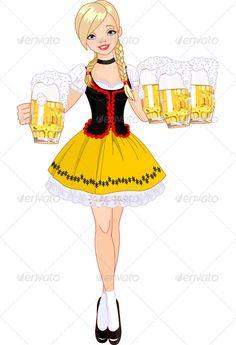 Alcohol clipart german beer Free beer 07  Oktoberfest