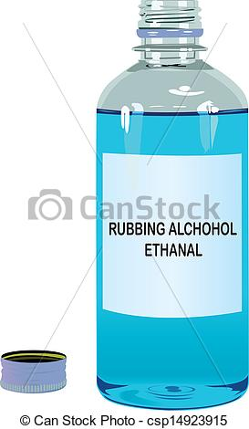 Alcohol clipart isoprophyl #7