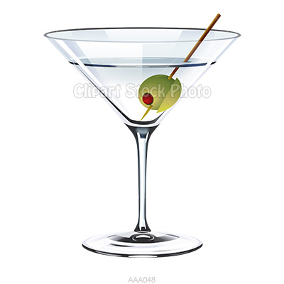 Alcohol clipart martini glass Martini #12 Panda Info Glass