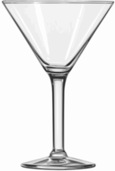 Alcohol clipart martini glass Image Glass Clip this vector