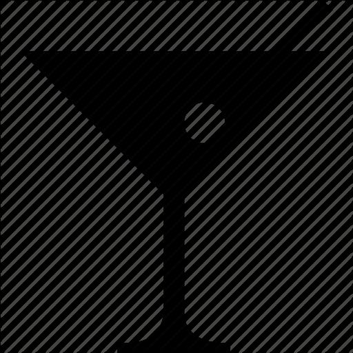 Alcohol clipart martini glass Glass glass icon cocktail martini