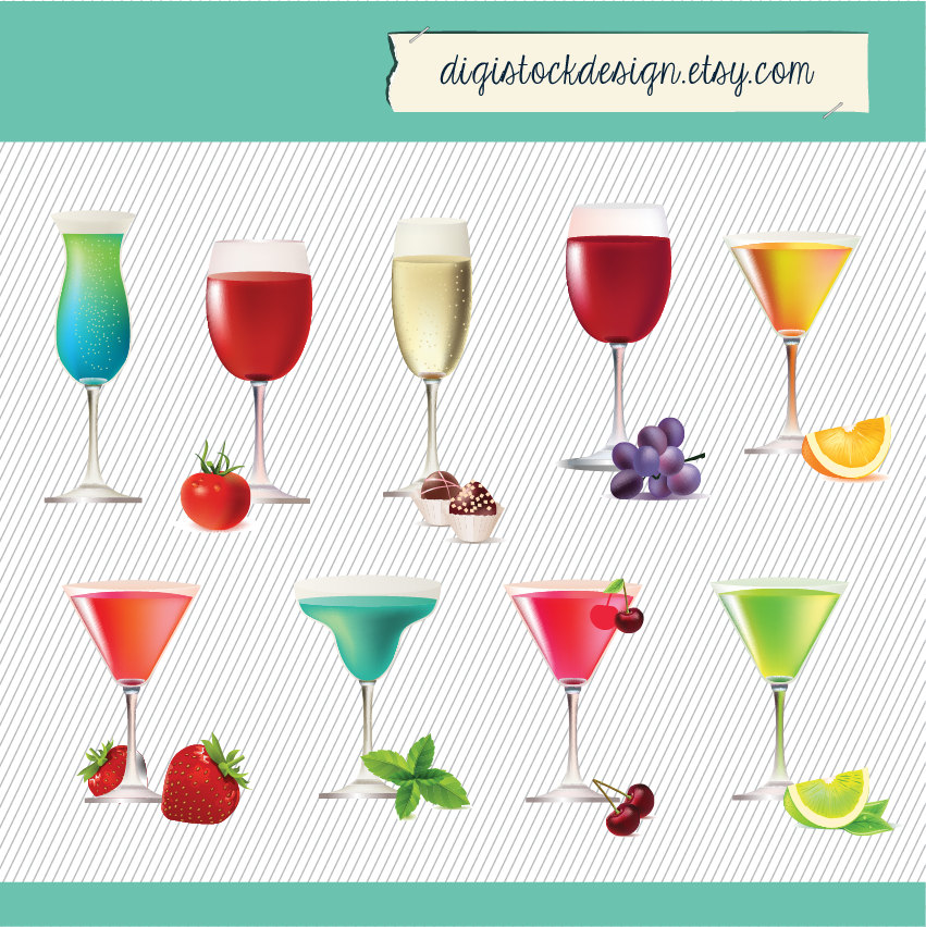 Boose clipart mixed drink Drinks file  This digital
